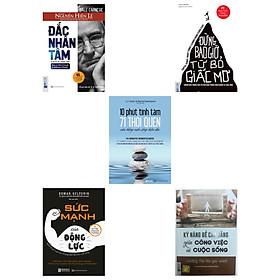Combo 5 cuốn sách tư duy-kỹ năng sống(tặng bookmark kim loại mạ vàng)