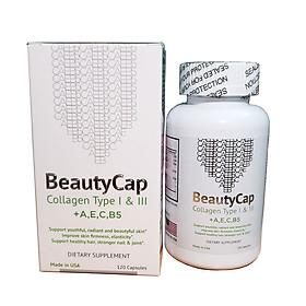 Viên uống bổ sung Collagen BeautyCap giúp làm đẹp da chống lão hoá