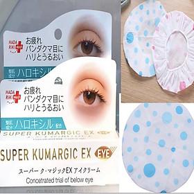 Combo Kem chống Thâm, Chống Nhăn, Chống Bọng Mắt SUPER KUMARGIC EX Nhật Bản tặng ngay mũ tắm trùm đầu cao cấp