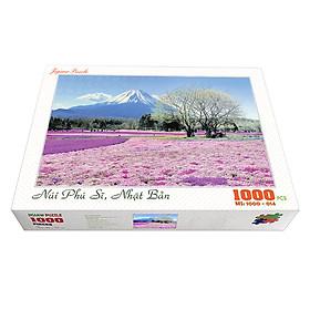 Bộ tranh xếp hình cao cấp 1000 mảnh ghép – Núi Phú Sĩ, Nhật Bản (50x79cm)
