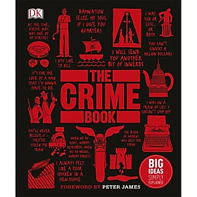 DK The Crime Book (Series Big Ideas Simply Explained)