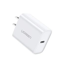 sạc nhanh chuẩn usb power delivery màu trắng Ugreen 127UP70149CD 30W type c PD hàng chính hãng