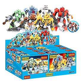Mô Hình Cogo Các Loại Robot 3017 (Giao Mẫu Ngẫu Nhiên)