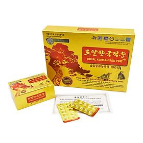 COMBO Tinh dầu thông đỏ hoàng gia 120 viên Royal Korean Red Pine TẶNG 01 hộp Linh Chi Táo Đỏ 30 gói Daedong Korea Ginseng