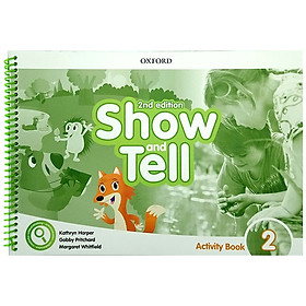 Show and Tell: Level 2: Activity Book, 2nd Edition