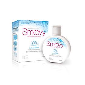 Dung dịch vệ sinh phụ nữ thế hệ mới Smoovy Cool dưỡng ẩm và làm hồng vùng kín 150ml