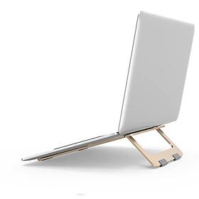 Đế Nhôm Gập Tản Nhiệt Dành Cho Macbook, Laptop -...