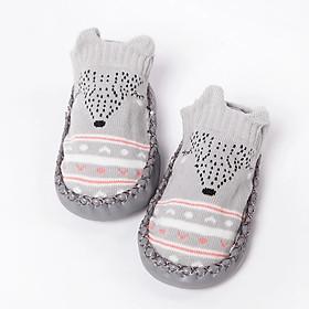 Giày tất tập đi chống trơn trượt cho bé 6-18 tháng tuổi