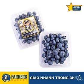 [Chỉ Giao HCM] - Việt Quất Mỹ size Regular (Hộp 125Gr) - Vị ngọt, chua nhẹ vô cùng hòa quyện