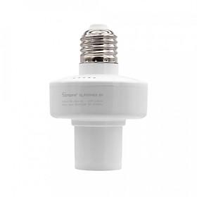 Đui Đèn Wifi Điều Khiển Từ Xa Sonoff Slampher RF E27