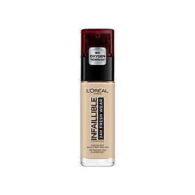 L'Oreal Infallible 24 Hour Liquid Foundation 130 True Beige 30ml