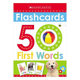 Hình đại diện sản phẩm Scholastic Early Learners Flashcards: First 50 Words