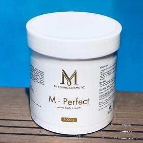 Kem Dưỡng Trắng Da Cốt Yến Mi Young M-Perfect Luxury Body Cream - 1000gr