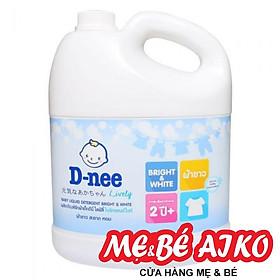Nước giặt Quần Áo Trẻ Em D-nee Thái Lan Màu Trắng 3 Lít chính hãng