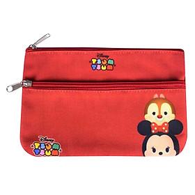 Túi Đựng Viết Bé Gái Disney Tsum Tsum TT13 089