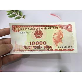 Tiền 10000 đồng Việt Nam 1993, tiền cổ Việt Nam, tiền đẹp như hình, tặng phơi nylon bảo vệ - PCCB MINGT