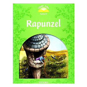 Classic Tales 3 : Rapunzel (with Book and Audio MultiROM) (Second Edition)