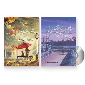 Combo 2 sách: 999 bức thư viết cho bản thân + 123 Thông Điệp Thay Đổi Tuổi Trẻ (Trung giản thể – Trung phồn thể – Pinyin – tiếng Việt) + DVD quà tặng