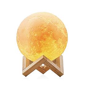 Đèn Mặt Trăng 3D Cảm Ứng Trang Trí