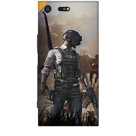 Ốp lưng dành cho điện thoại SONY XZ PREMIUM hình PUBG Mẫu 10