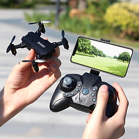 S107 Foldable Mini Drone RC 4K FPV HD Camera Wifi FPV Dron Selfie RC Helicopter Juguetes Toys for Boys Girls Kids