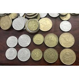 Đủ bộ xu Việt Nam 2003 sưu tầm, 5 mệnh giá khác nhau