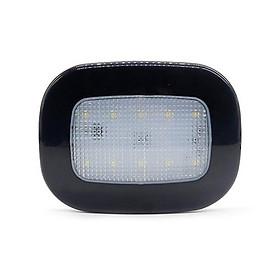 Đèn Led Ốp Trần Xe Ô Tô Đế Nam Châm Đa Năng, chiếu sáng trong xe - Màu Đen