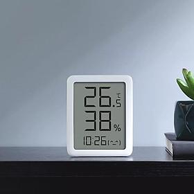 Nhiệt kế Xiaomi Youpin MMC, màn hình điện tử, màn hình kỹ thuật số LCD lớn, nhiệt kế, ẩm kế, cảm biến nhiệt độ và độ ẩm