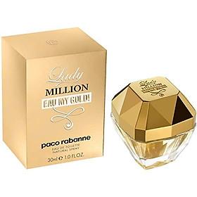 Lady Million Eau My Gold ! by Paco Rabanne 2.7 oz Eau de Toilette Spray