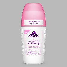 Lăn Khử Mùi Nữ Ngăn Mồ Hôi Adidas Clearly White 40ml