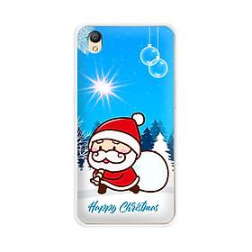Ốp lưng dẻo cho điện thoại Oppo Neo 9 (A37)  - 01099 7939 SANTA02 - Noel - Merry Christmas - Hàng Chính Hãng
