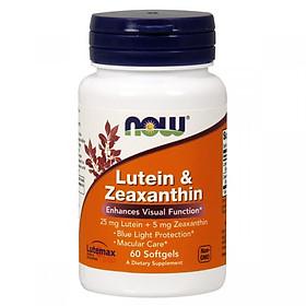 Thực Phẩm Chức Năng Bổ Mắt Lutein & Zeaxanthin NOW Foods USA