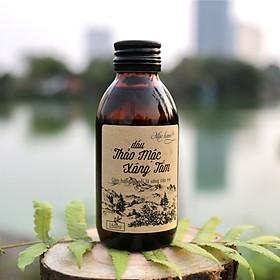 Dầu thảo mộc xông tắm Mộc Hương chứa 7 loại tinh dầu Bạc hà, ngũ sắc, khuynh diệp, tía tô, gừng, sả chanh, hương nhu