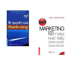 Combo 2 cuốn sách: Bí Quyết Của Thành Công (Khổ Lớn) + Free marketing - 101 ý tưởng phát triển doanh nghiệp với chi phí thấp