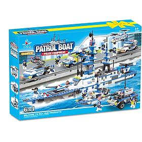 Bộ đồ chơi ghép hình tàu chiến 1230 Miếng Ghép A282