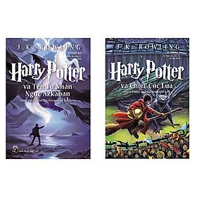 Combo sách Harry Potter Và Tên Tù Nhân Ngục Azkaban - Tập 3 và Harry Potter Và Chiếc Cốc Lửa - Tập 4