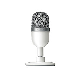 Razer Seiren Mini USB Condenser Microphone Ultra-compact Streaming Microphone with Supercardioid Pickup Pattern Silver