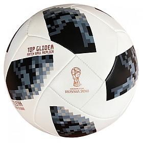 Quả bóng đá cao cấp World Cup 2018 TELSTAR số 5 (Màu đen trắng)- Kèm kim bơm bóng