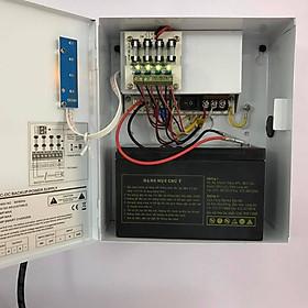 Bộ cấp nguồn điện dự phòng Klink dành cho hệ thống 4 camera giám sát và đầu ghi