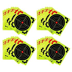40 Packs Splatter Reactive Self Adhesive Shooting Targets Gun