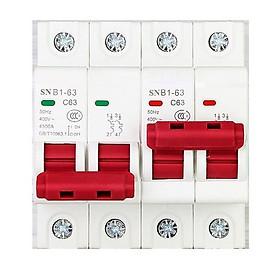 Cầu dao đảo chiều 2P 63A 220V SNB1 cầu dao đổi nguồn điện aptomat đổi nguồn