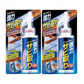 Combo 02 Chai tẩy gỉ sét đồ dùng kim loại siêu sạch nội địa Nhật Bản