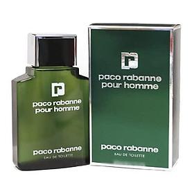 Paco Rabanne Eau De Toilette Spray For Men, 3.4 Ounce