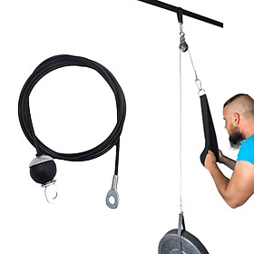 Lifting Load Adjustable Fitness DIY Pulley Cable Back Strength Home Workout