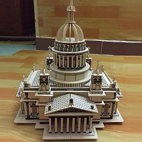 Đồ chơi lắp ráp gỗ 3D Mô hình nhà thờ Issa Kiev