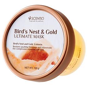 Mặt Nạ Trẻ Hóa Và Săn Chắc Da Từ Tổ Yến Và Vàng Scentio Bird's Nest & Gold 100g