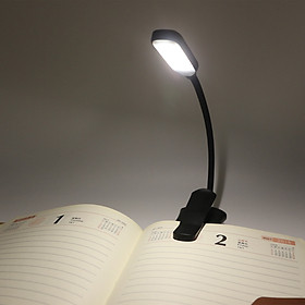 Rechargeable Book Light 7 LED Reading Light with 3 Brightness Night Reading Lamp Touch Switch Bedside Book Light for