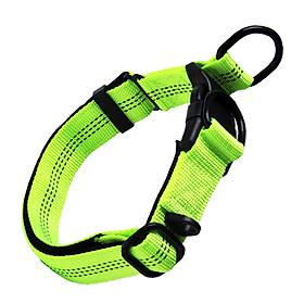 Vòng cổ chó phản quang Nylon Pet Collar đeo cổ chó có thể điều chỉnh vừa và lớn