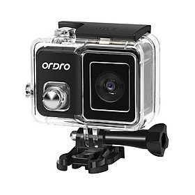 ORDRO BRAVE 1 WiFi Sports Action Camera PTZ 4K 60fps Anti-Shake 120° Wide Angle 30M Waterproof Supports Slow/Fast Motion