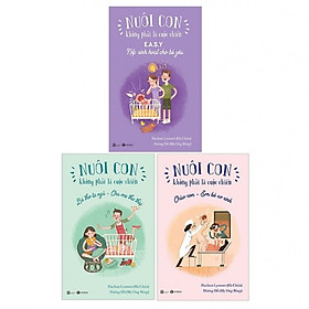 Sách nuôi dạy con: Combo Nuôi con không phải cuộc chiến phần 2 + Tặng kèm sách mầm non Ước mơ của bé (cuốn ngẫu nhiên)